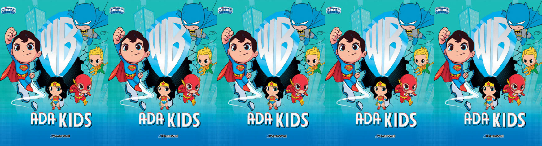 Tapet lavabil vinilic Ada Kids poster